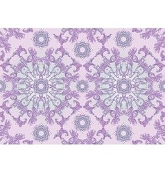 Background with pastel purple floral ornament vector