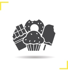Confectionery icon vector