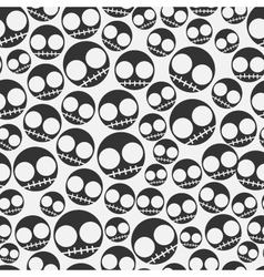 Emo seamless pattern vector image vector image