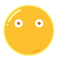 Emoji in flat design icon vector