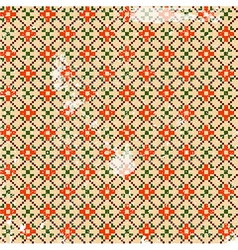 Fabric pattern vector