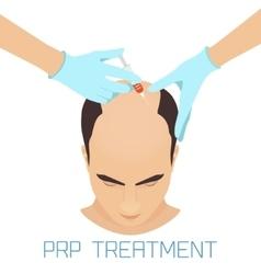 Prp treatment for men vector