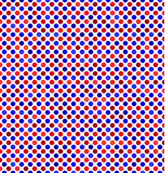 Red blue abstract dot pattern background vector