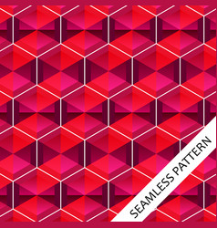 seamless pattern with geometric vector image