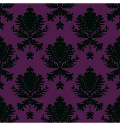 Simple elegant block printed pattern vector