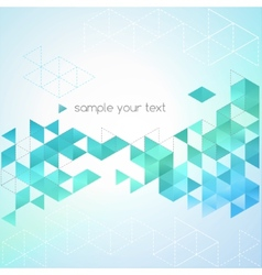 Abstract technology background in color vector
