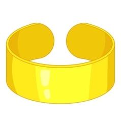 Bracelet icon cartoon style vector