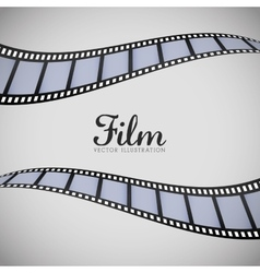 Film and cinema icons vector image