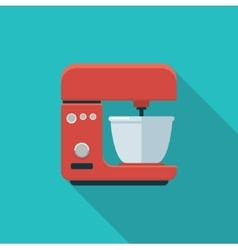 Stationary mixer simple icon vector