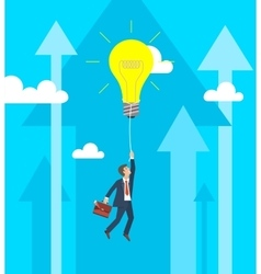 Business Growth and Innovation Concept vector image