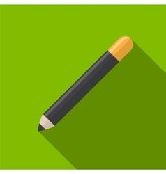 Cosmetic pencil flat icon vector