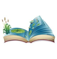 River book vector image vector image