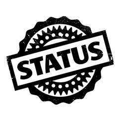 Status rubber stamp vector