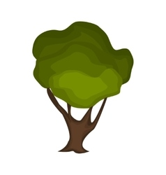 Tree nature green vector