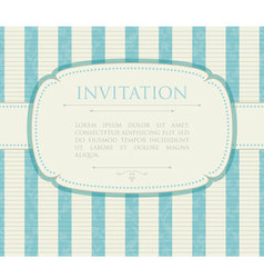 invitation vector image