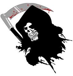 dead skull vector image