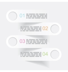 Gray infographics banners vector