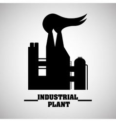 Industry design plant icon factory concept vector