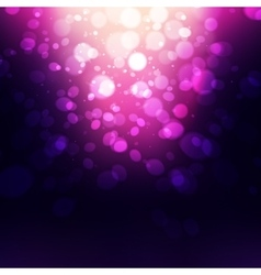 Abstract holiday background bokeh effect vector