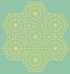 geometric interlaced pattern vector image