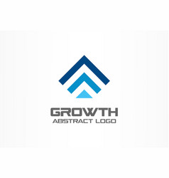 abstract logo for business company technology vector image