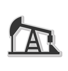 Renewable energy isolated flat icon in black and vector