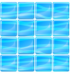Blue tiles texture seamless vector