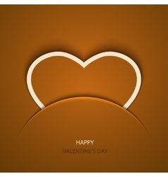 modern valentines day background vector image