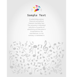 Musical frame5 vector
