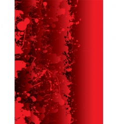 blood splat vector image vector image