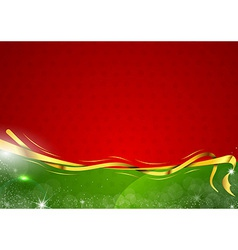christmas background two color vector image