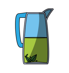 cold drink lemonade vector image