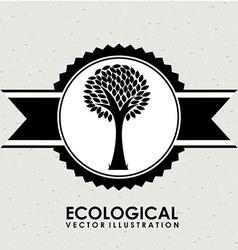 ecological mind design vector image