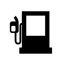 fuel station pump icon vector image