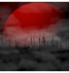 Halloween background - full vector image
