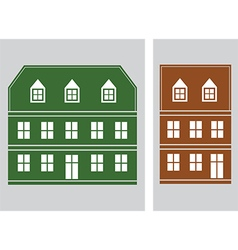 house icon5 vector image