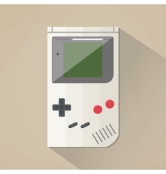 Old Gadget flat design vector image