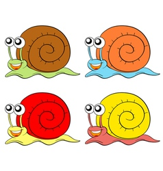 Snails vector image vector image