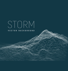Storm background vector