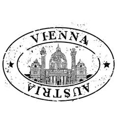 vienna icon vector image vector image