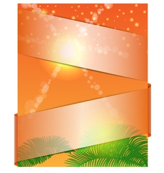 summer banner 1 vector image