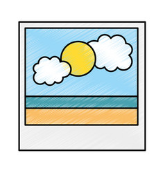 file picture isolated icon vector image