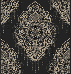 Abstract floral pattern element in vector