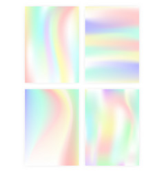Set of vertical abstract backgrounds with vector