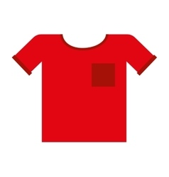 T-shirt clothes clothing icon vector