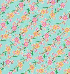 Javanese floral pattern vector