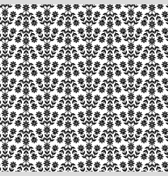 Flower lush pattern vector