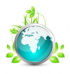 world nature vector image