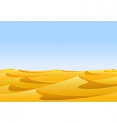 desert vector image