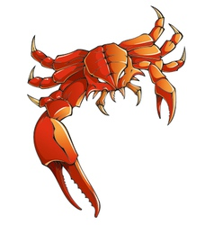 Monster crab vector